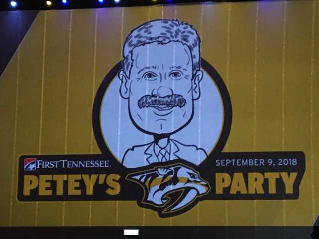 Photos: Petey's Preds Party Benefits Good Cause