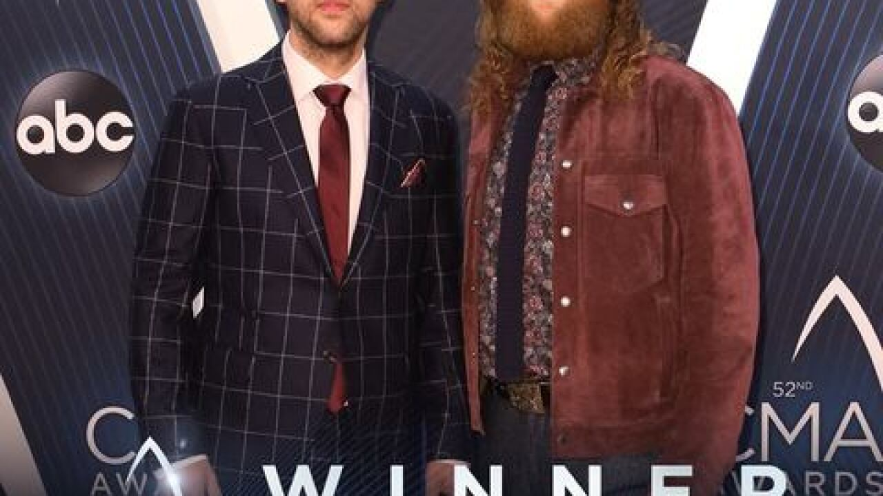 Brothers Osborne wins Duo of the Year for third year in a row