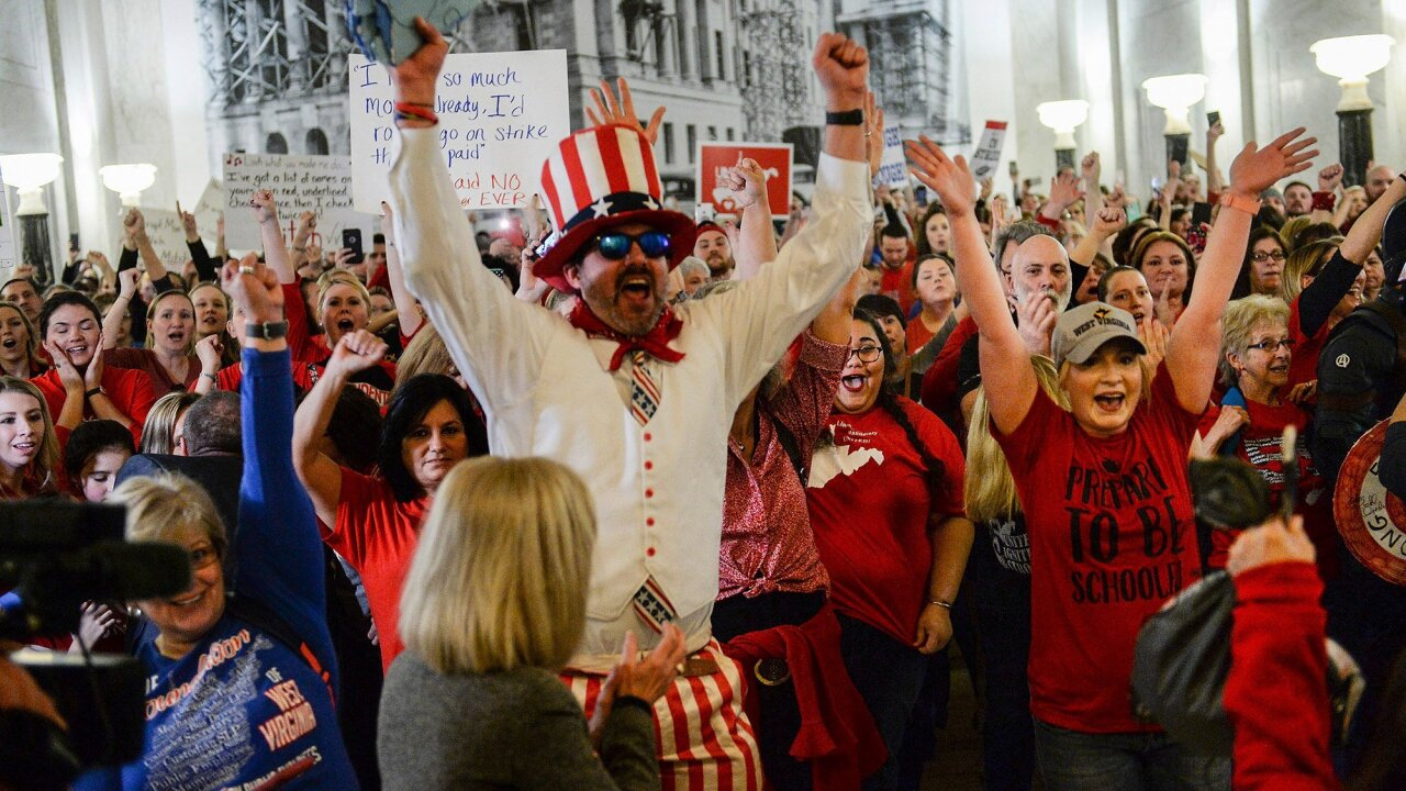 Striking West Virginia teachers told it's time to go back to school