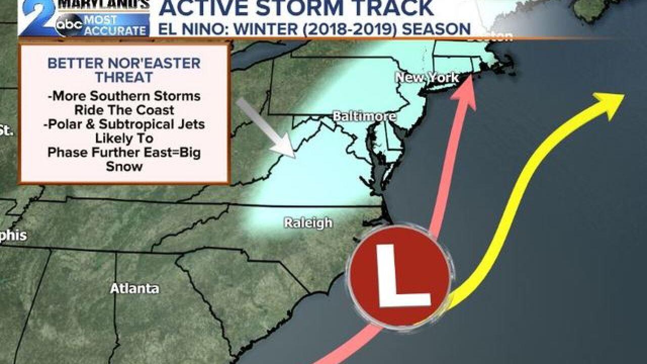 WINTER IS COMING: NOAA Releases It's Outlook