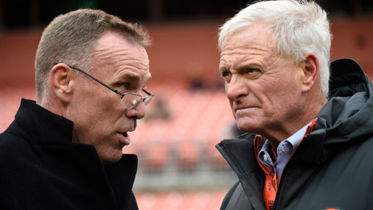 Browns GM Dorsey to lead search for team's next coach