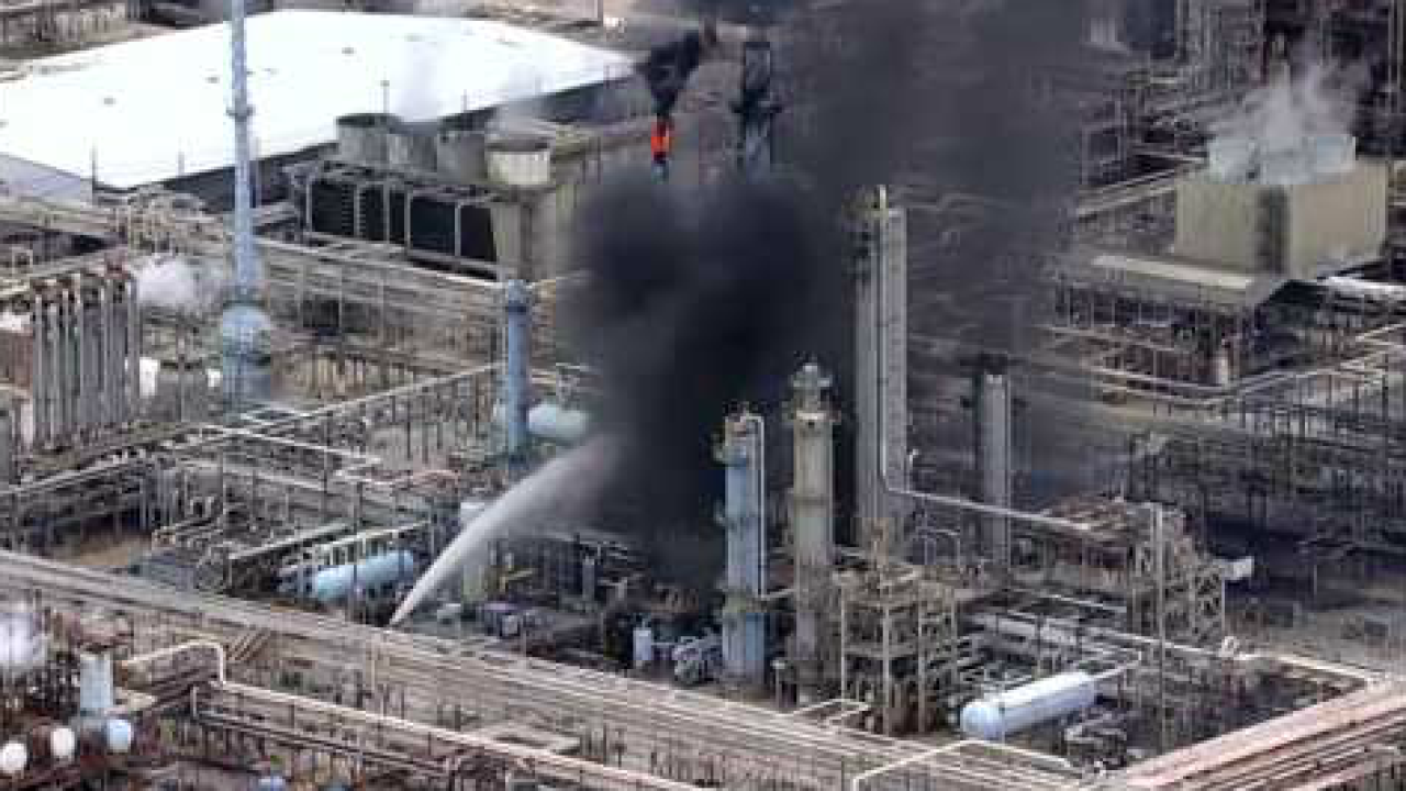 At least 37 injured, shelter-in-place order issued after fire breaks out at ExxonMobil plant in Baytown,Texas