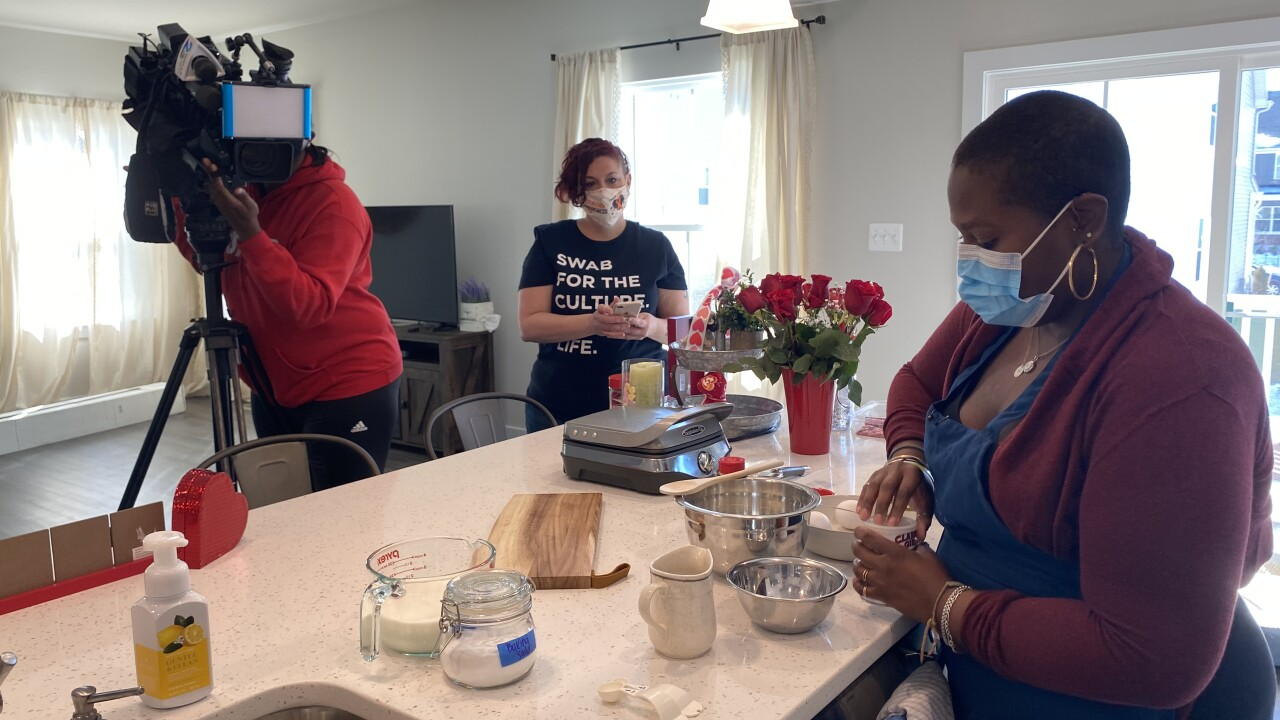 Maryland native cooking for a cure while battling Myelodysplastic syndrome