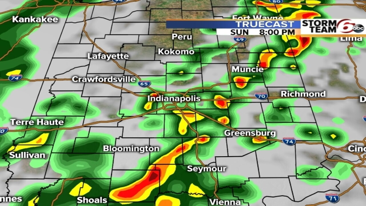 TIMELINE: Slight risk of severe storms