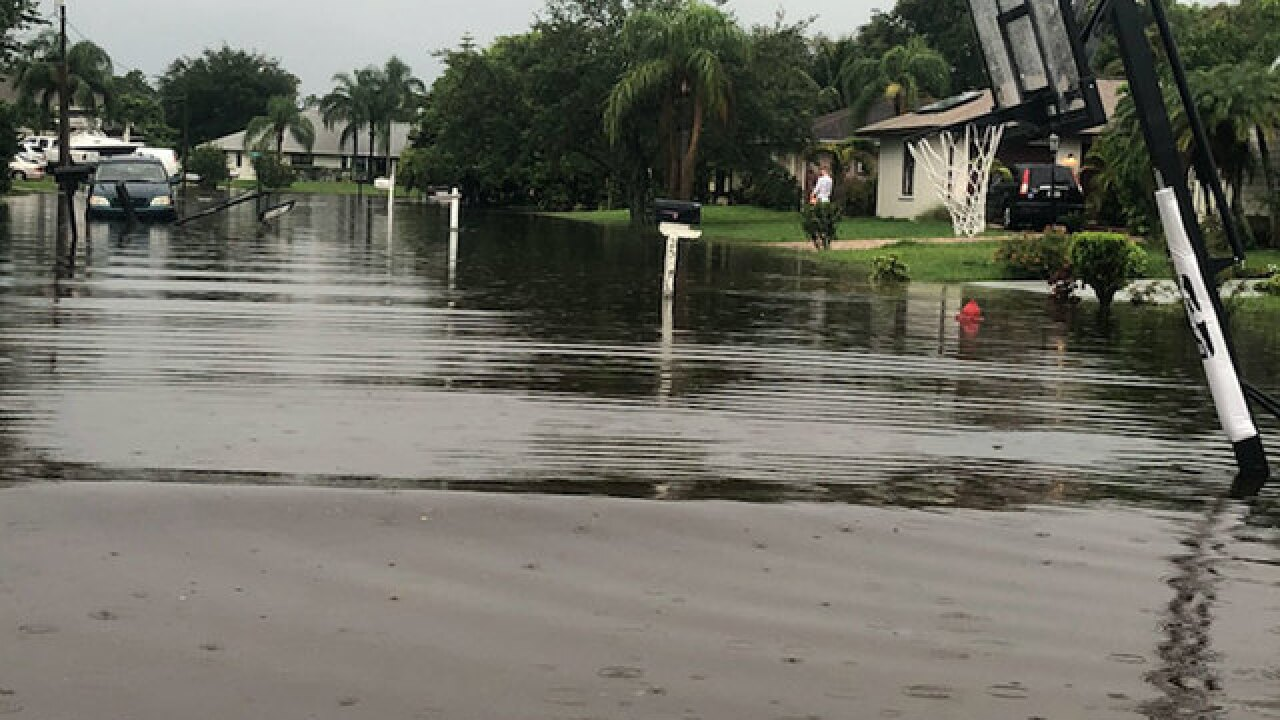 Flooding swamps Treasure Coast neighborhoods