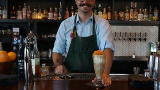 At Sundry and Vice, the boozy milkshakes range from awe-inspiring to off-the-wall wacky