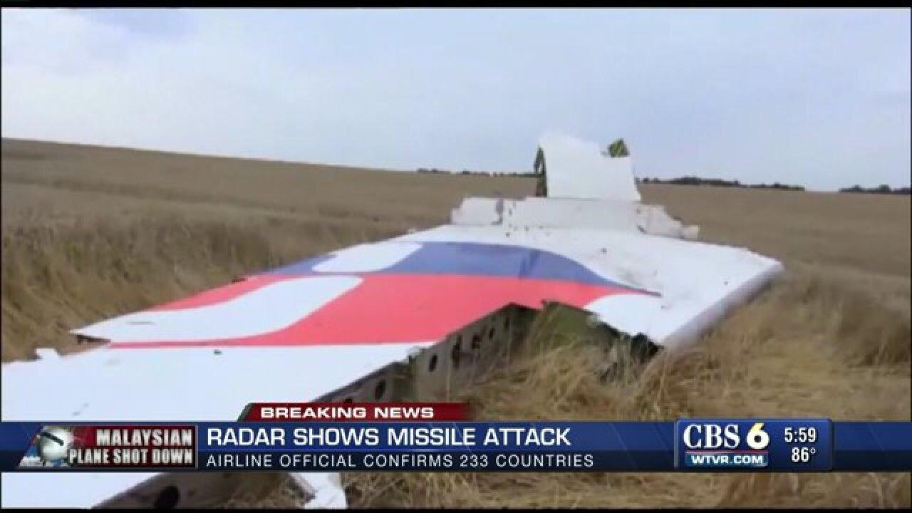 Liberty University grad reporting on Malaysian planecrash