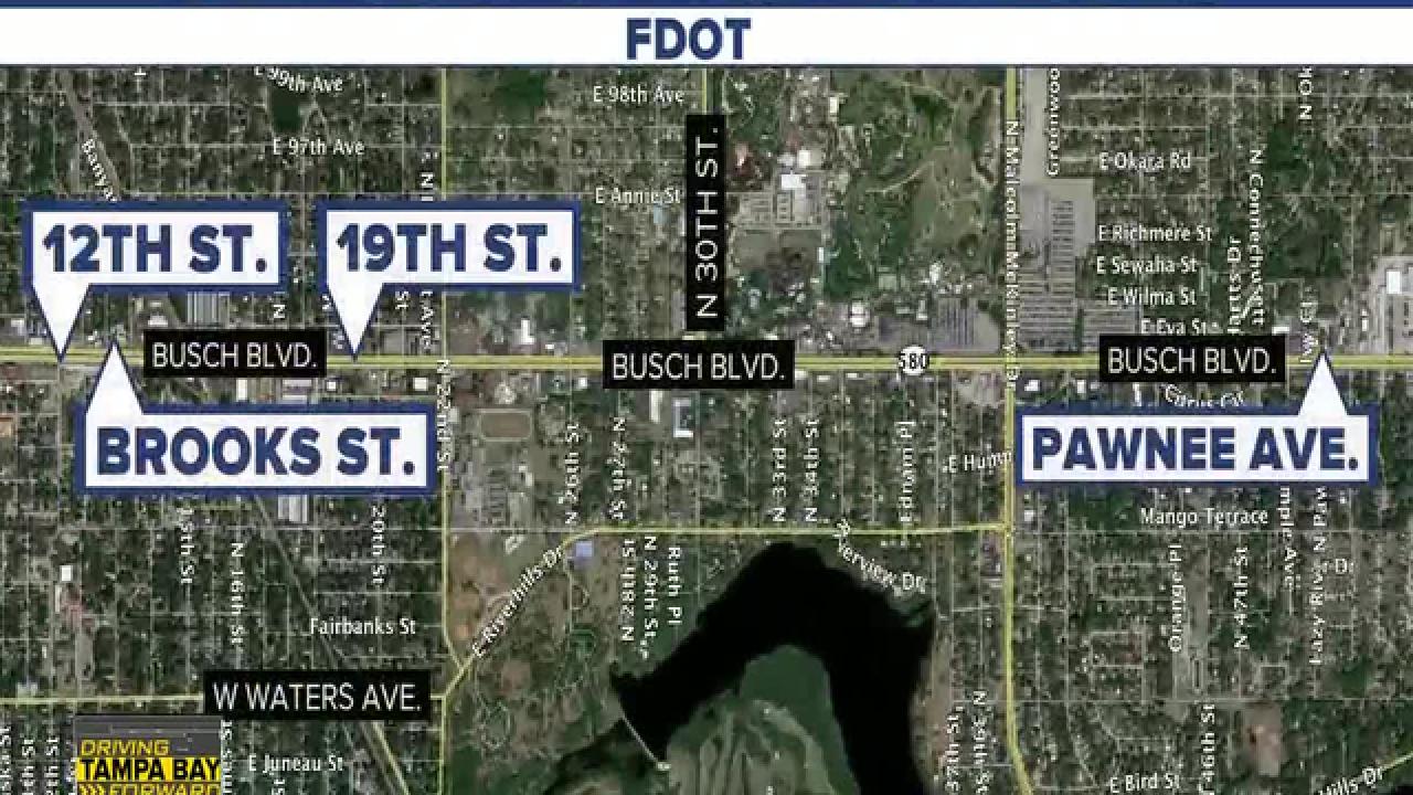 New effort to improve safety along Busch Blvd