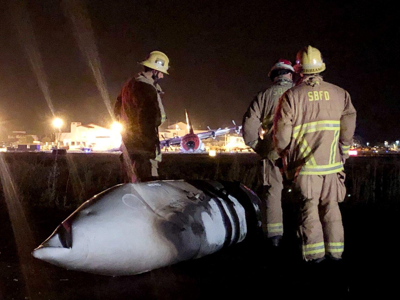 SBA plane crash response