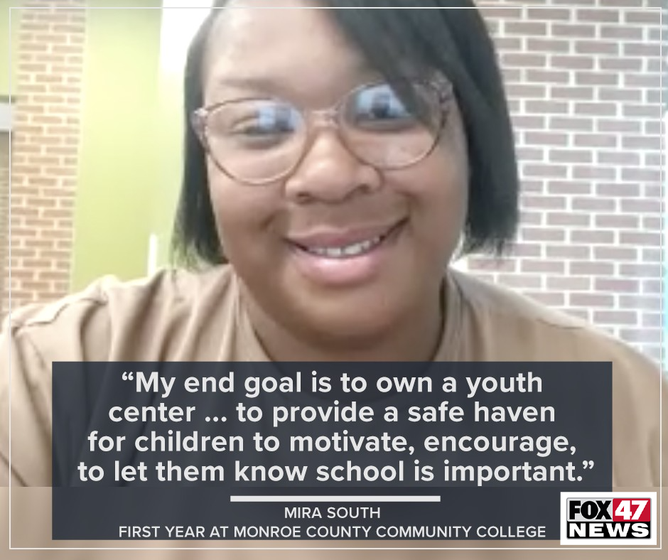Mira South is a student at Monroe County Community College