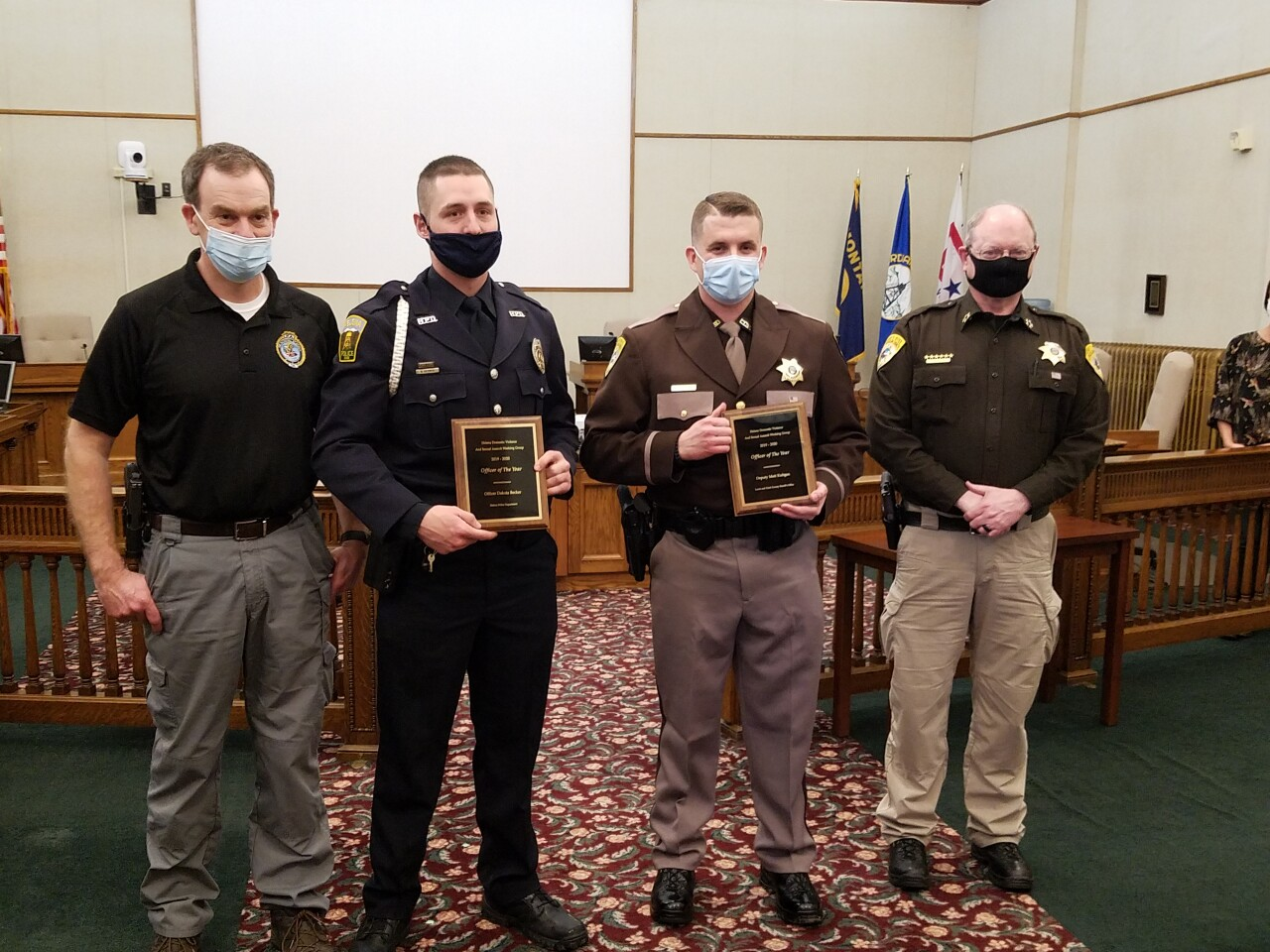 Helena Domestic Violence and Sexual Assault Working Group Announces Officer of the Year Winners