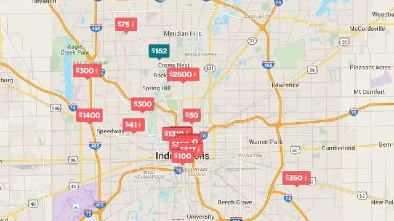 Crazy listings for alternative Indy 500 lodging