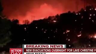 Lake Christine Fire prompts additional evacuations