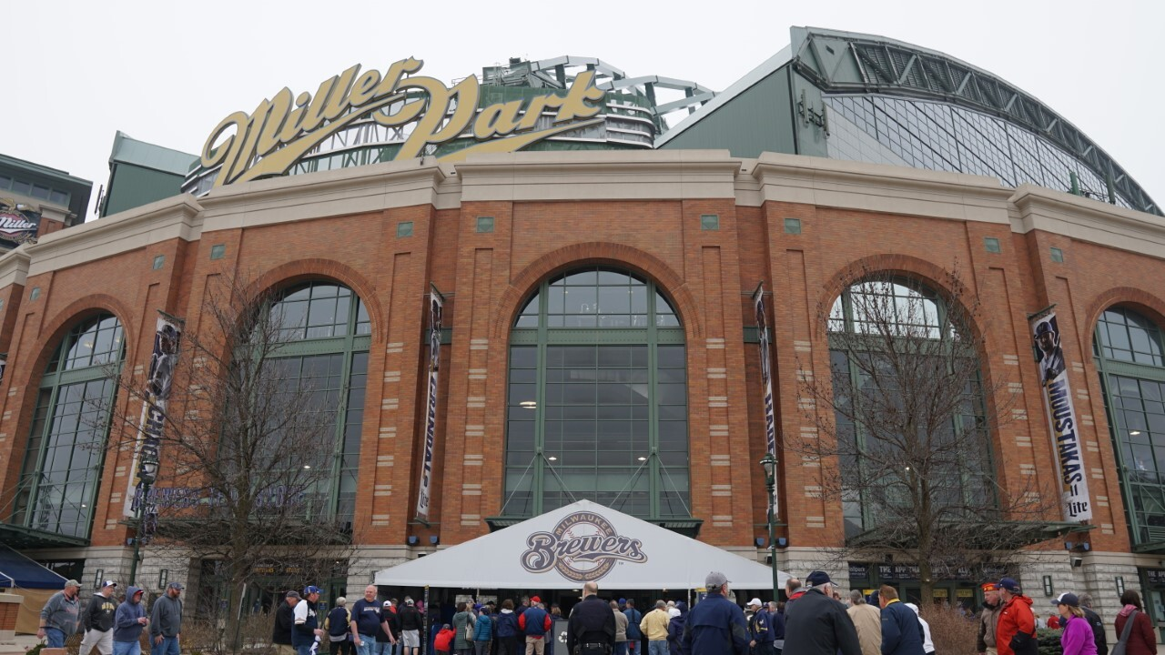 Outside shot of Miller Park