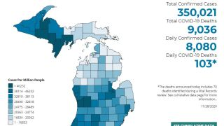 Michigan sees nearly 50K new COVID-19 cases in one week