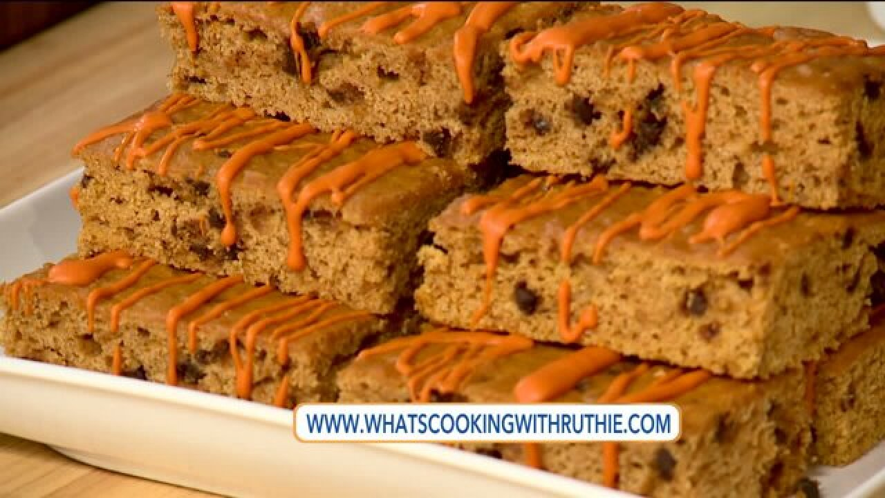 Recipe: Skinny Pumpkin Bars
