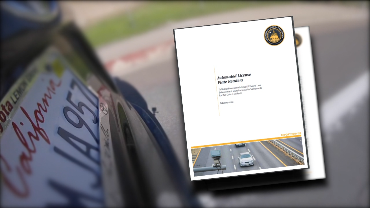 Audit on automated license plate readers