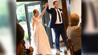 American newlyweds on honeymoon burned in New Zealand volcano eruption