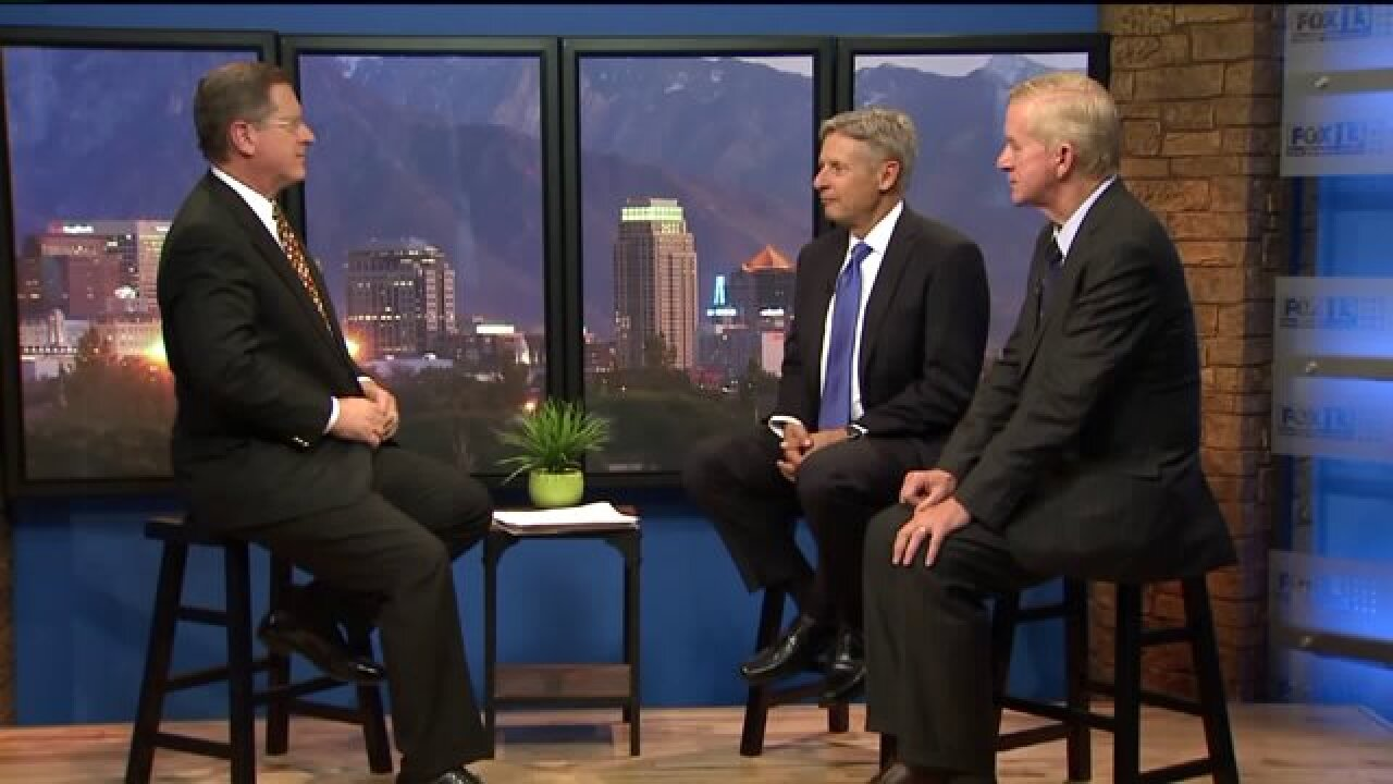 3 Questions with Bob Evans: Gary Johnson and Bill Weld talk 2016 Presidential race