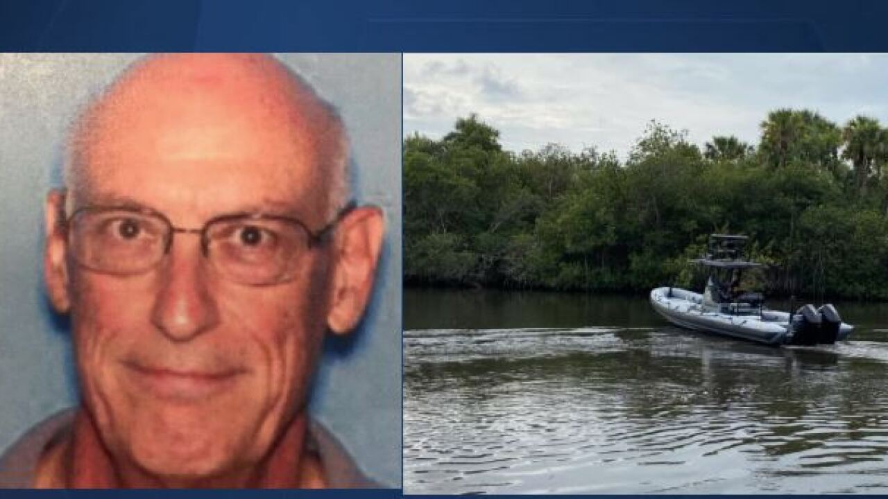 Stephen Crouch, missing kayaker