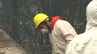 California wildfires: Crews making progress in fight