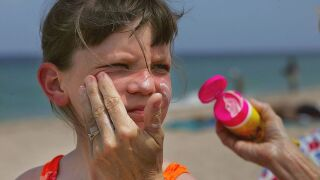 Dermatologists say these sunscreen ingredients can cause blisters and burns on some children's skin