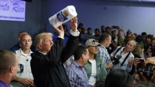 Donald Trump paper towel