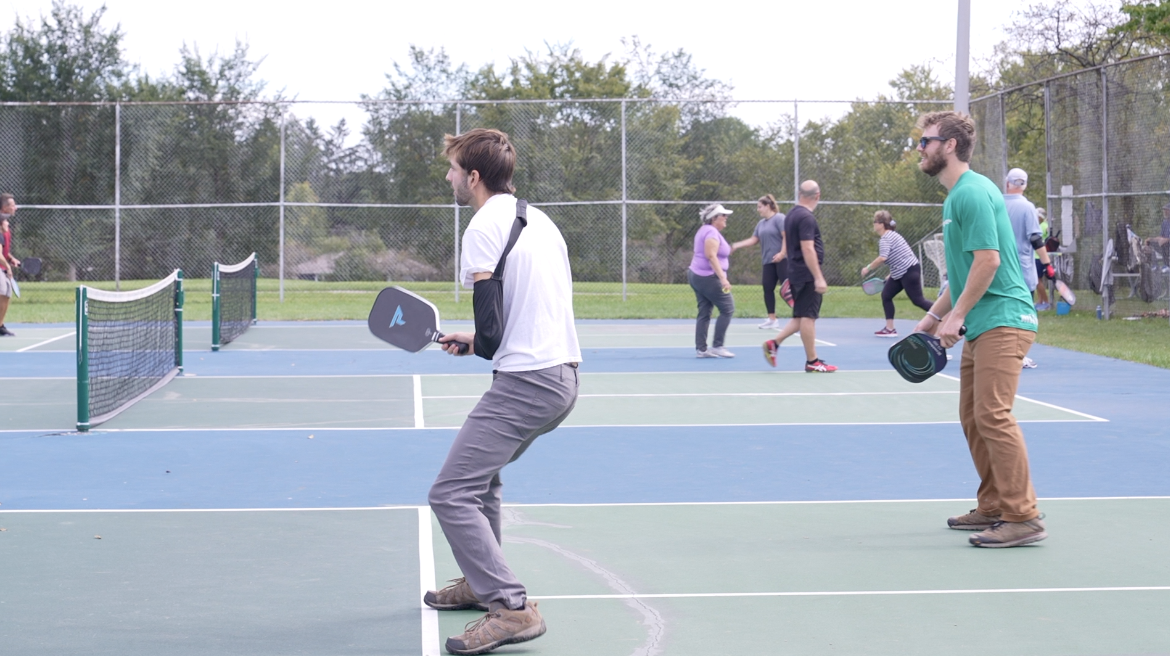 Pickleball for all ages