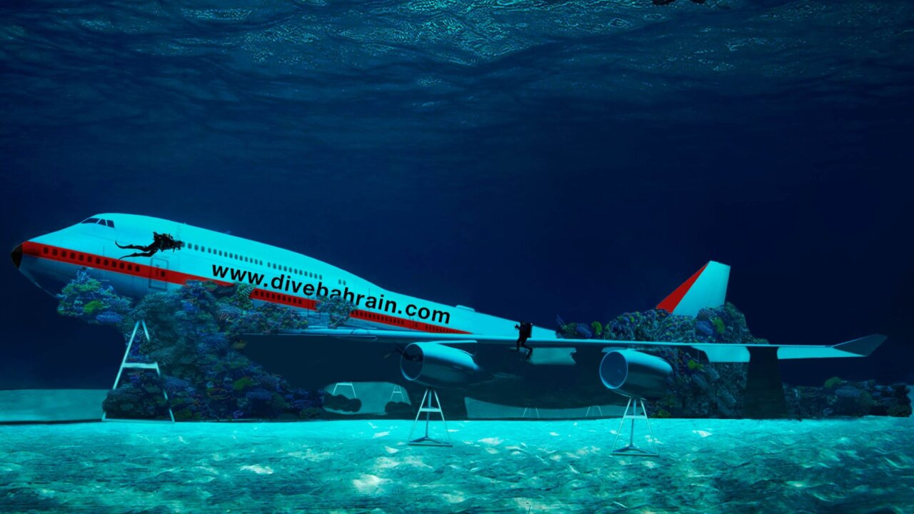 Underwater theme park featuring Boeing jet to open internationally this summer