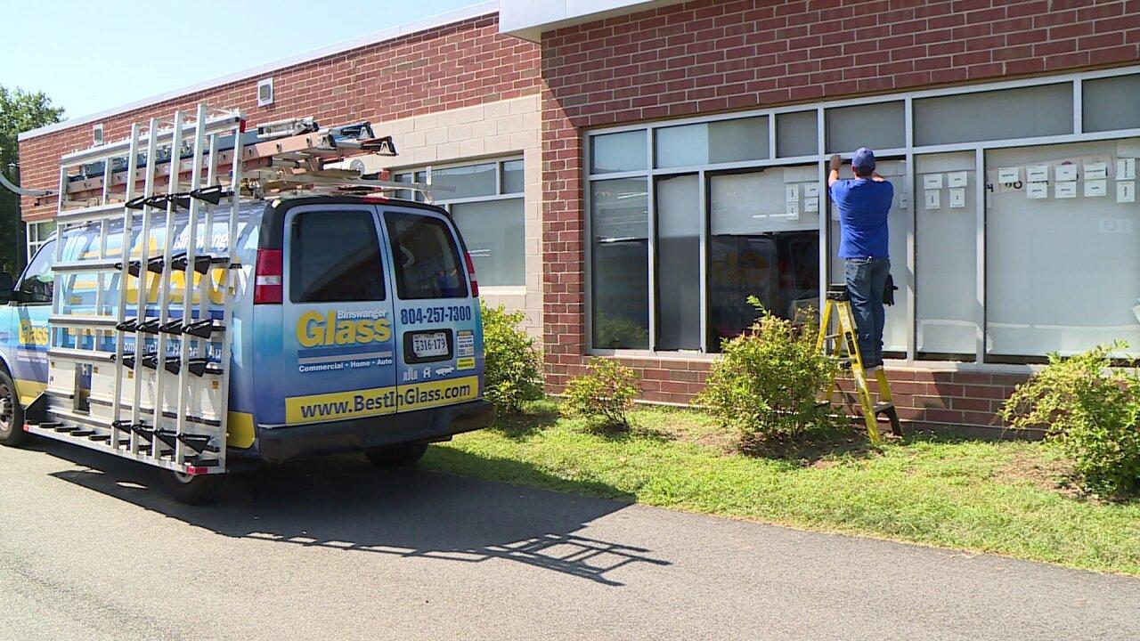 Vandal shoots out 22 windows at Richmond daycare center near middleschool