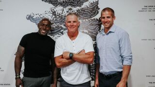 Packers legends Driver, Favre, and Nelson at Wisconsin Athletic Hall of Fame ceremony