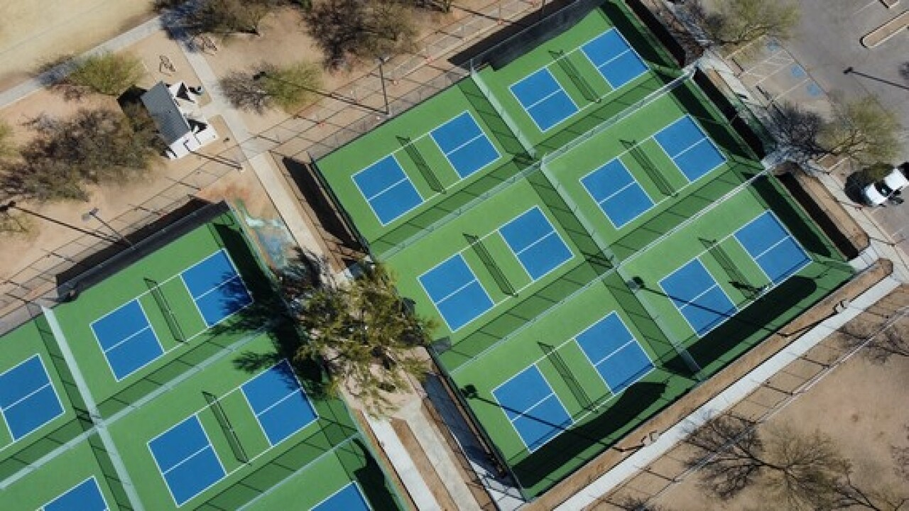 New pickleball courts will open at Morris K. Udall Park March 22.
