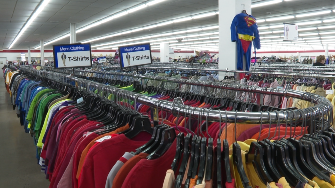Looking for last-minute Halloween costumes on a budget? The Salvation Army has you covered