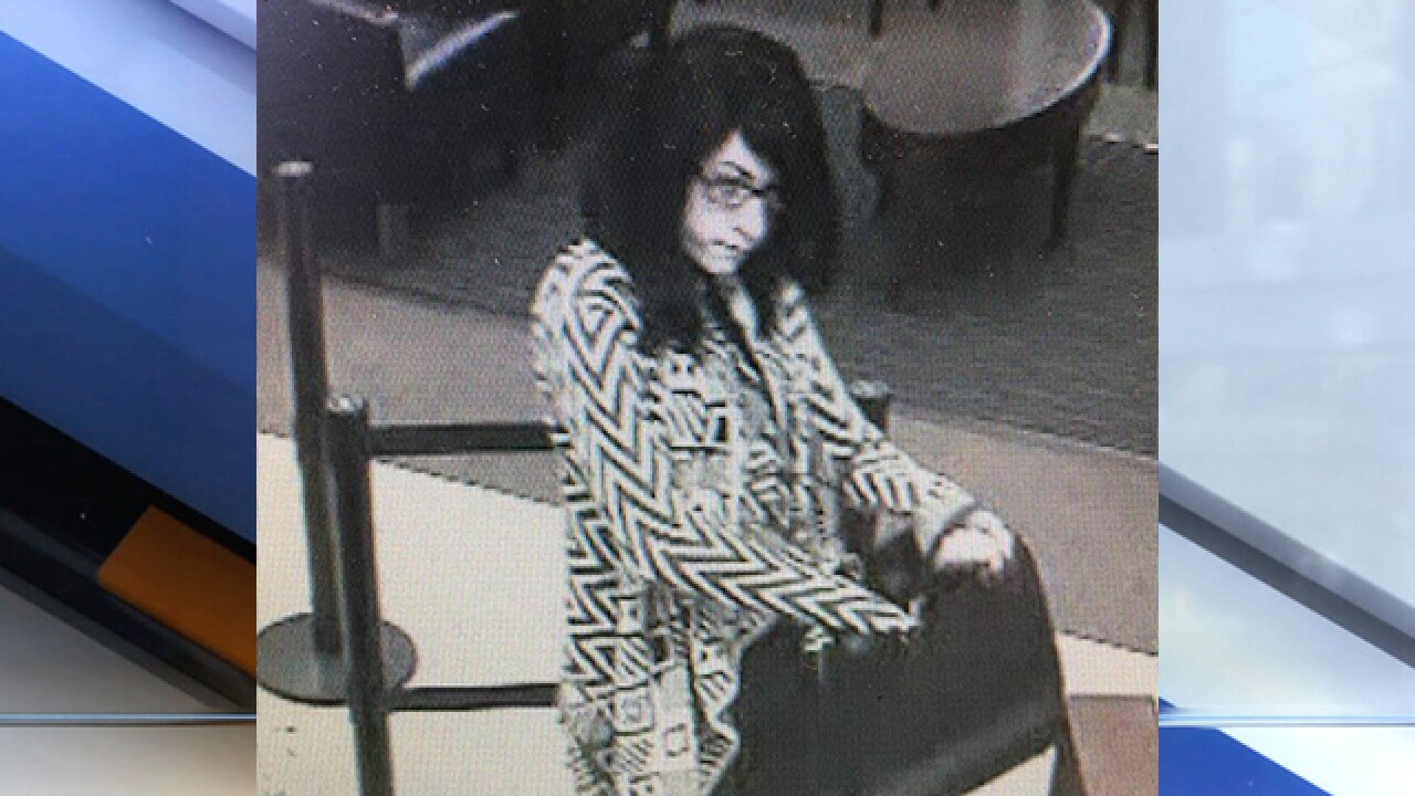 Woman sought in multiple bank robberies in Ohio