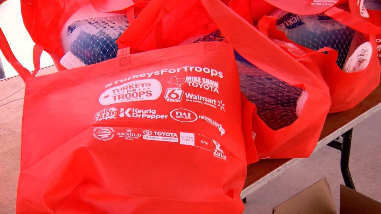 Veterans In Focus: Turkeys for Troops