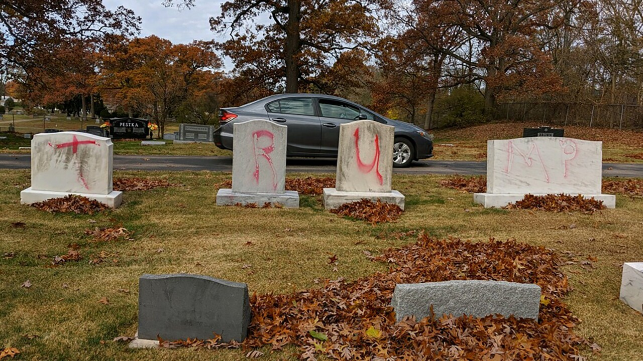 Jewish Cemetery Graves Vandalized