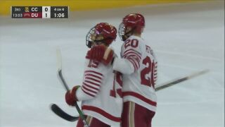 No. 8 DU shuts out Colorado College
