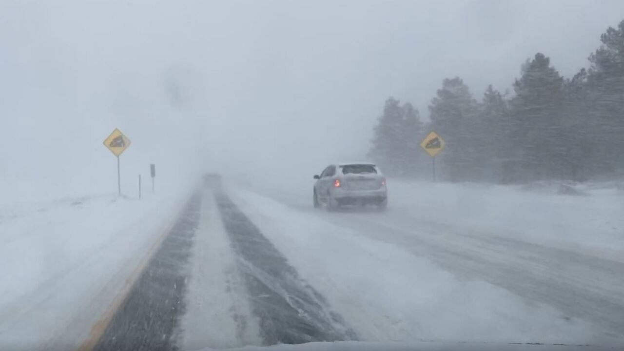 I-70 driving between Frisco and Silverthorne January 17, 2020