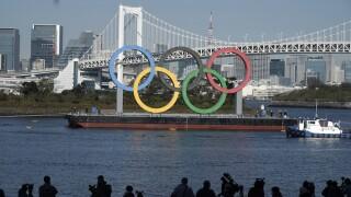 Japan Olympics Tokyo Rings Return