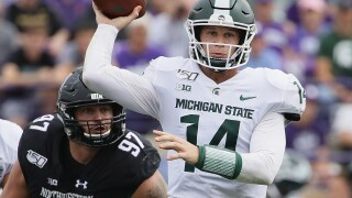 No. 25 Michigan State hosts Indiana for Homecoming