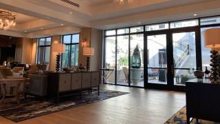 Harpeth Hotel lobby