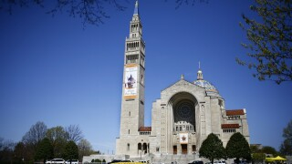 1 security guard stabbed, another hit by vehicle at Basilica of the National Shrine in D.C.