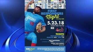 Hooks host 'First Responders Night', 'Dia de los Hooks'