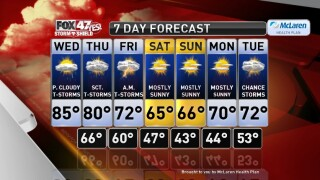 Claire's Forecast 5-27