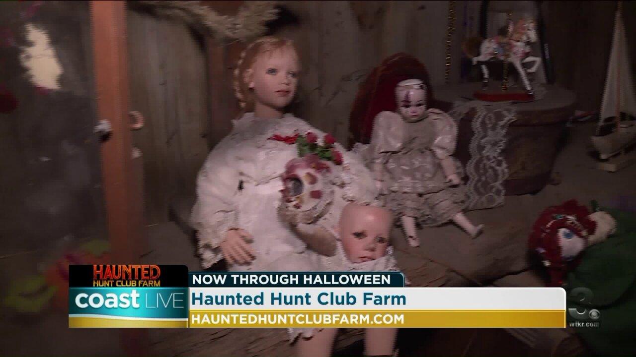 A spooky tour of Haunted Hunt Club Farm on CoastLive