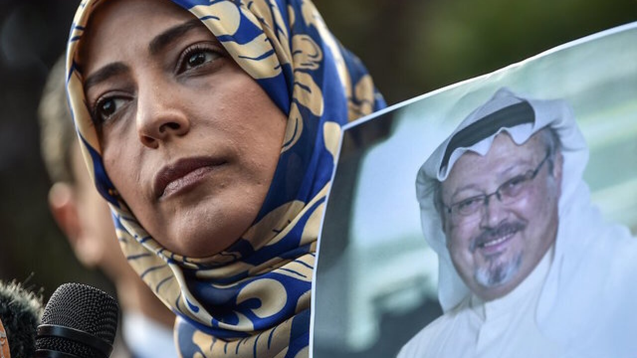 Fiancee of missing Saudi journalist appeals directly to Trump for help in op-ed