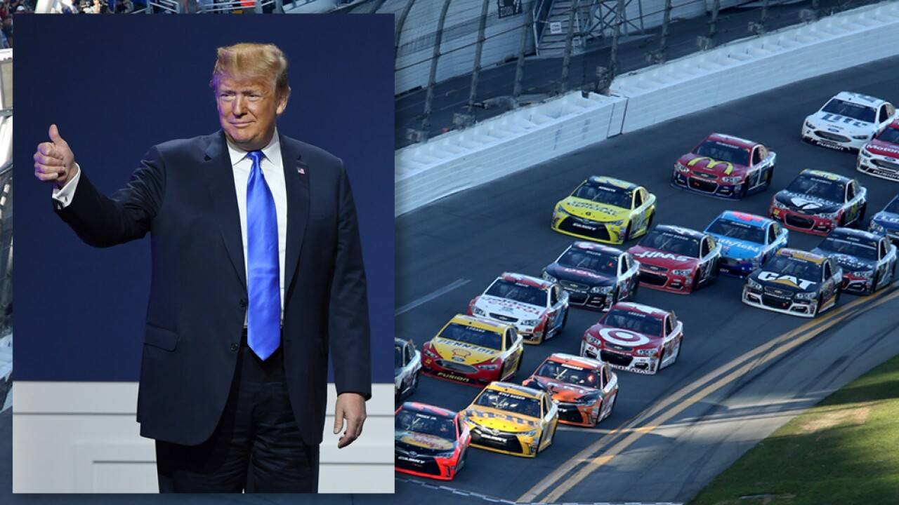President Donald Trump expected to attend Daytona 500 this weekend