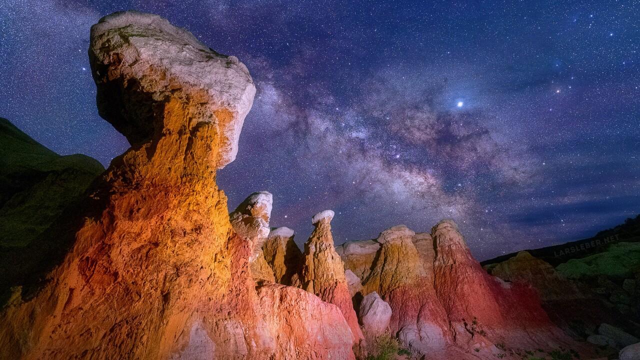 Paint Mines Milky Way by Lars Leber Photography 2.jpg