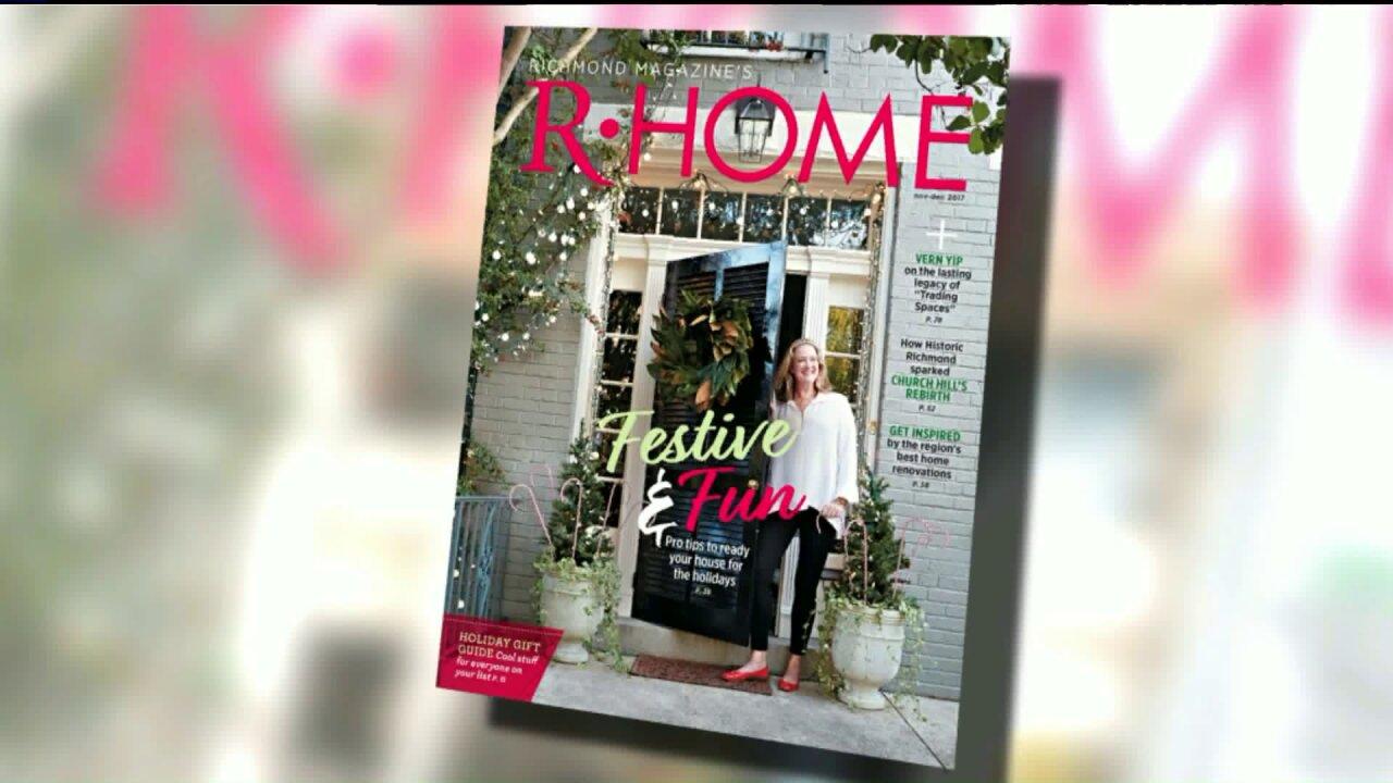 RHome Magazine shares simple holiday decoratingideas