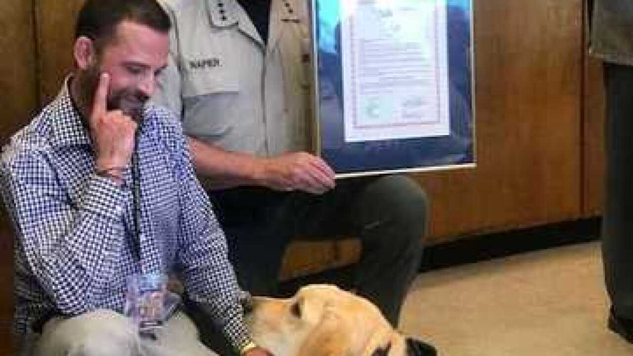 Pima County Supes. declare Therapy Animal Day